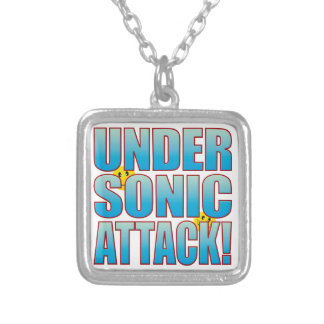 Sonic Attack Life B Silver Plated Necklace