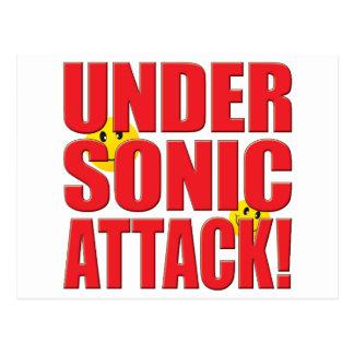 Sonic Attack Life Postcard