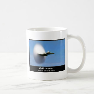 Sonic Boom F-18 Hornet Coffee Mug