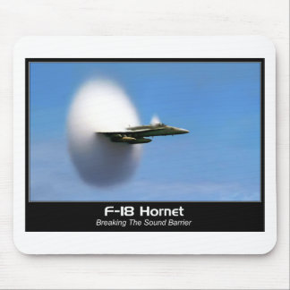 Sonic Boom F-18 Hornet Mouse Pad