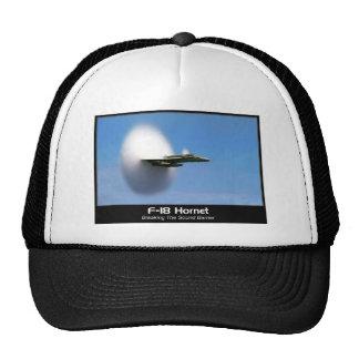 Sonic Boom F-18 Hornet Trucker Hat