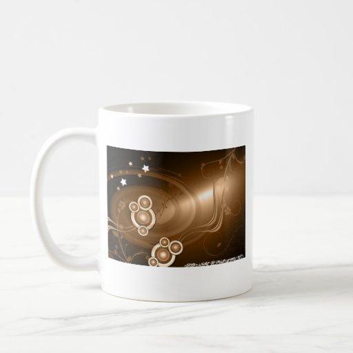 Sonic de bronce taza de café