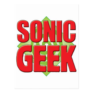 Sonic Geek v2 Postcard