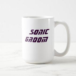 sonic groom coffee mug