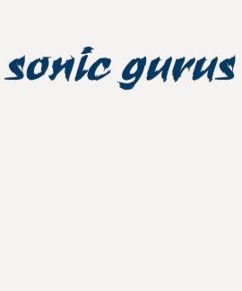 Sonic Gurus Logo - Navy Blue Tees
