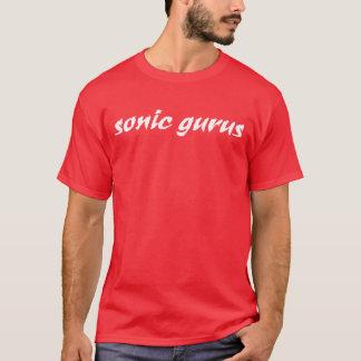 Sonic Gurus Logo - White T-Shirt