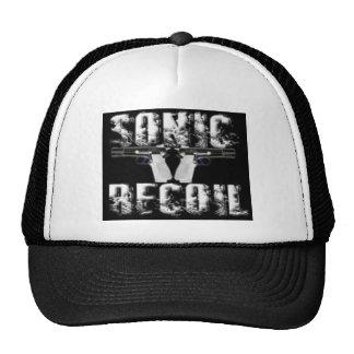 sonic recoil logo mesh hats