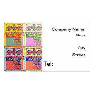Sonicboomartha music gadget business card