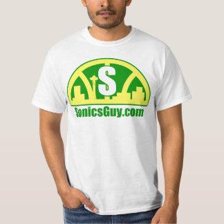 Sonics Guy Globe T-Shirt