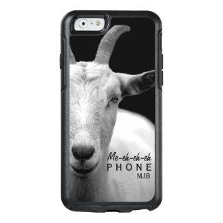 Sonido animal de la cabra divertida monograma de funda otterbox para iPhone 6/6s