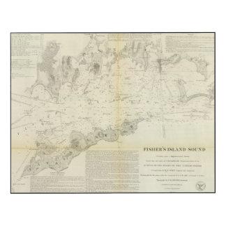 Sonido de la isla de Fisher Impresión En Madera