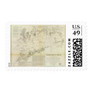 Sonido de la isla de Fisher Timbres Postales