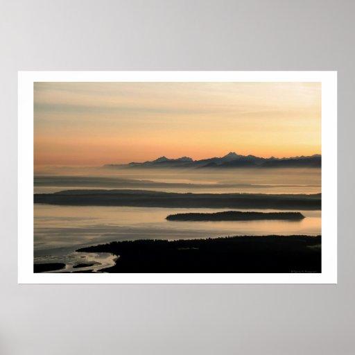 Sonido de la posesión, isla de Whidbey Poster