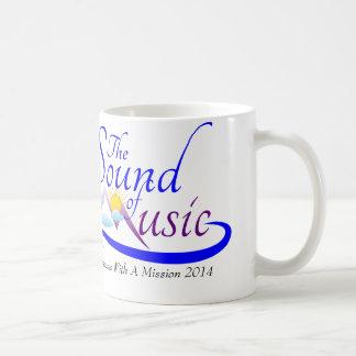 Sonido de la taza conmemorativa de la música