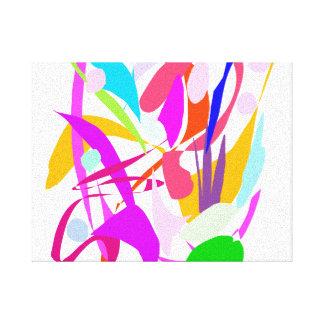 Sonido del aplauso de la audiencia del concierto lienzo envuelto para galerías