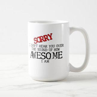 Sonido del humor divertido impresionante de la taza