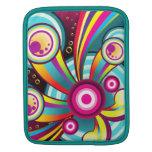 Sonidos abstractos del arco iris fundas para iPads