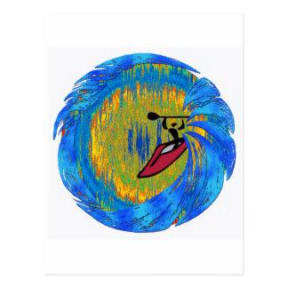 sonidos de la resaca del kajak postal