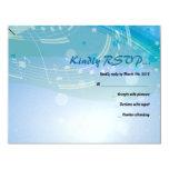 SONIDOS de la tarjeta de contestación de Mitzvah Invitación 10,8 X 13,9 Cm