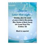SONIDOS de la tarjeta de la recepción de Mitzvah Invitación 8,9 X 12,7 Cm