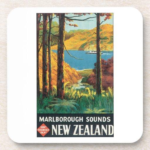 Sonidos de Marlborough, poster del viaje de Nueva  Posavasos