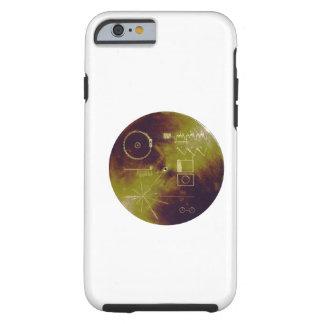 Sonidos del disco de oro del viajero 1 y 2 de la funda resistente iPhone 6