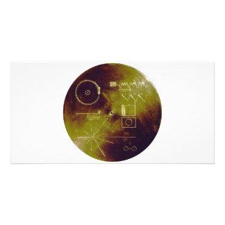 Sonidos del disco de oro del viajero 1 y 2 de la t tarjetas personales