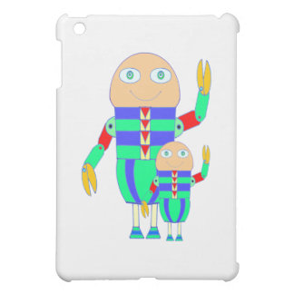 Sonielito Robot Father and Son iPad Mini Case