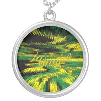 Sonique Jamaica Silver Necklace