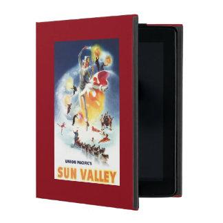 Sonja Henje Montage of Sun Valley Poster iPad Folio Cases