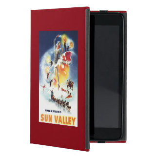 Sonja Henje Montage of Sun Valley Poster Cover For iPad Mini