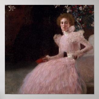 Sonja Knips, 1898 Poster
