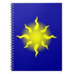 Sonne sun spiralblock