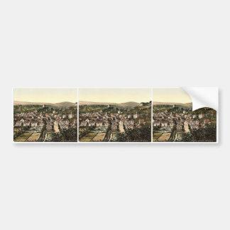 Sonnenberg, Wiesbaden, Hesse-Nassau, Germany rare Bumper Stickers