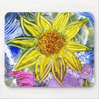 sonnenblume mouse pad