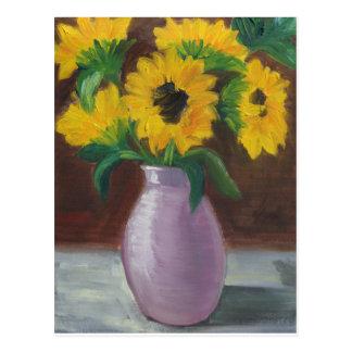 Sonnenblumen Postcard