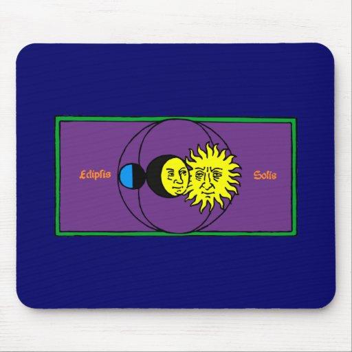 Sonnenfinsternis Eclipse Mousepads