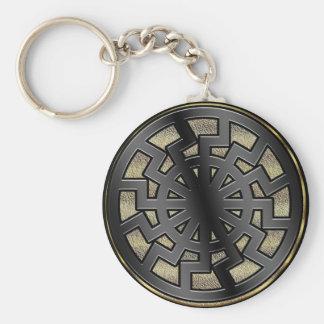 sonnenrad (sun wheel) keychain
