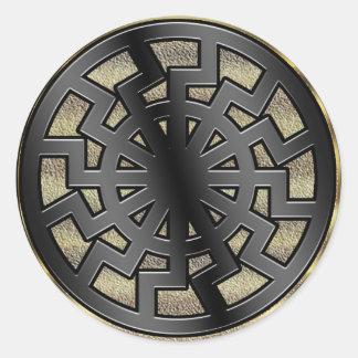 sonnenrad(sun wheel) round sticker