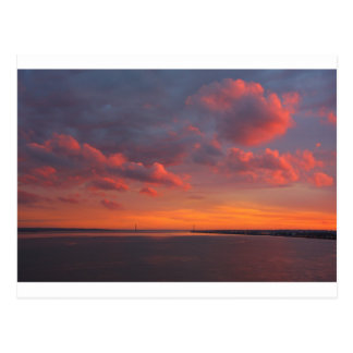 Sonnenuntergang 1 postcard