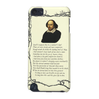 Sonnet # 18 by William Shakespeare iPod Touch 5G Case