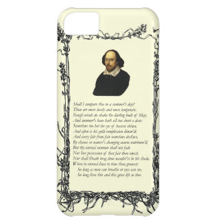 Sonnet # 18 by William Shakespeare Case For iPhone 5C