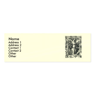 Sonnet # 18 by William Shakespeare Double-Sided Mini Business Cards (Pack Of 20)