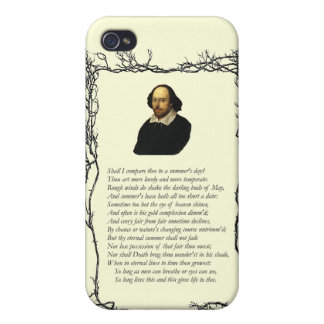 Sonnet # 18 by William Shakespeare iPhone 4 Case