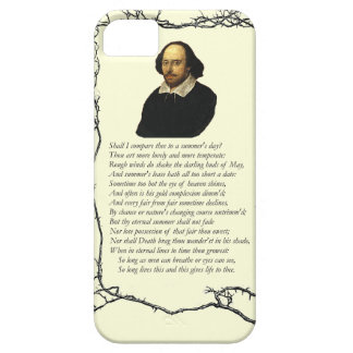 Sonnet # 18 by William Shakespeare iPhone SE/5/5s Case