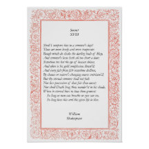 William Shakespeare Sonnets and Poems