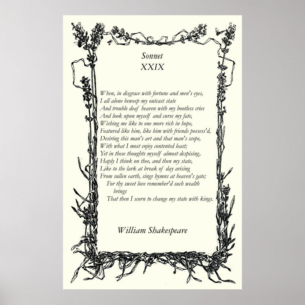 William Shakespeare xxix