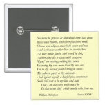 Sonnet # 35 by William Shakespeare Pinback Buttons