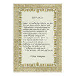 Sonnet # 35 by William Shakespeare Print