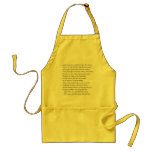 Sonnet # 3 by William Shakespeare Aprons